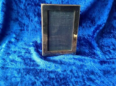 Antique Sterling Silver Photo/Miniature Frame-1919 Chester-Waterfall & Gravenor?