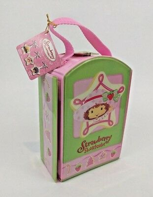 Strawberry Shortcake 3 Piece Holiday Ornament Set by Cleveland 2004 (NEW)