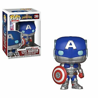 Funko Pop Games: Marvel Contest of Champions Civil Warrio 299 26709