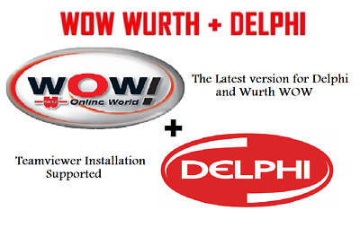 DELPHI 2015 R1 and 2014 R3 Diagnostic Software and Activation Multilingual + WOW