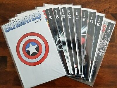 Ultimates (2011) Lot:  #1 (polybagged), 2, 3, 4, 5, 6, 7, 9, 10  VF/VF+