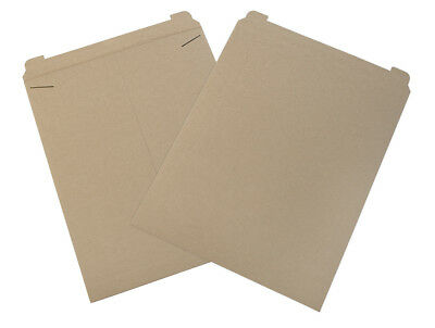 "Box Partners Flat Mailers 22"" x 27"" Kraft 50/Case RM27"