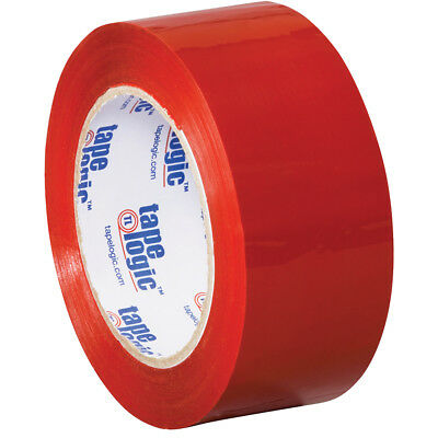 "Tape Logic Carton Sealing Tape 2.2 Mil 2"" x 110 yds. Red 36/Case T90222R"