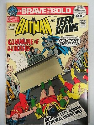 Brave and the Bold (1972) Batman Teen Titans Nice VF/NM 9.0 H746