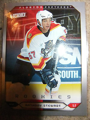 antony stewart  nottingham/florida panthers victory 2005/6   trading card