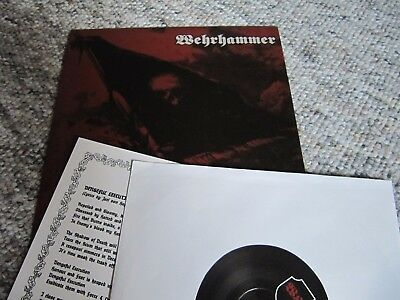 WEHRHAMMER Split EP 2013, new and unplayed, Totenburg Armatus