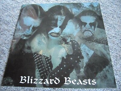 IMMORTAL - Blizzard Beats LP, marbled, Satyricon, Watain, Mgla, Uada Ulver