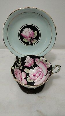 Vintage PARAGON H.M. the queen & H.M. the queen Mary teacup & saucer