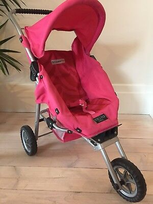 "Valco Mini Marathon ""Just Like Mum"" 3 Wheel Jogger Doll Pram / Dolls Stroller"