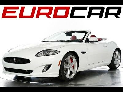 2014 Jaguar XK R Convertible 2014 Jaguar XK R Convertible - ONE OWNER, STUNNING RED INTERIOR W/ PIANO BLACK