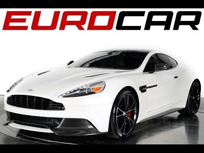 2014 Aston Martin Vanquish Base Coupe 2-Door 2014 Aston Martin Vanquish - STUNNING WHITE ON BLACK, EXPOSED CARBON EXTERIOR