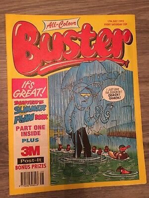 Buster Comic - 17th July 1993