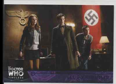Lot of (5) 2016 Topps Doctor Who Timeless Purple Parallel Cards listed below /50