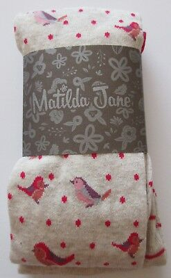Matilda Jane Friends Forever Ingrid Tights Size Large NWT NEW