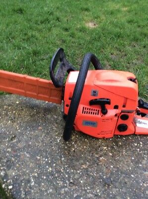 18 Inch Chainsaw, Sharp Chain, No Damage, Works Very Well But Over Revs