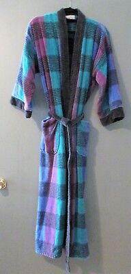 Vintage Christian Dior Men's Toweling Robe Dressing Gown One Size Fits All
