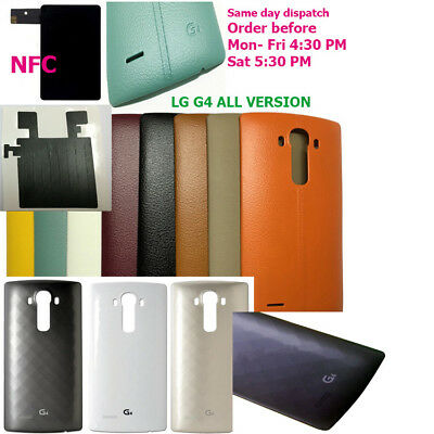 LG G4 All Version Rear Battery Back Cover replacement Case Door Shell and NFC