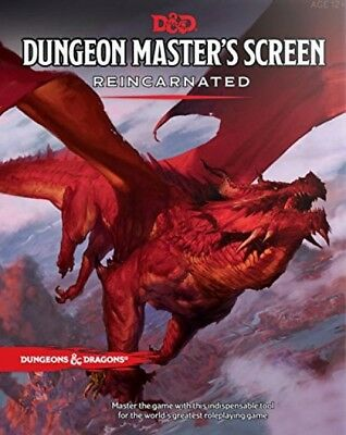 Dungeons And Dragons C36870000 Rpg - Dungeon Master's Screen Reincarnated -