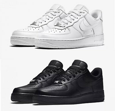 size 40 73024 c7755 Sneakers Basse Uomo Nike Air Force 1 07 315122 111 Bianco - 001 Nero Total