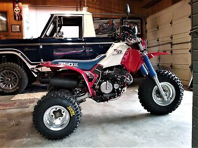 1985 Honda Atc 350x Street Legal Vin Only One In Existence Three Wheeler