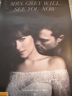 Fifty Shades Freed - one sheet movie poster