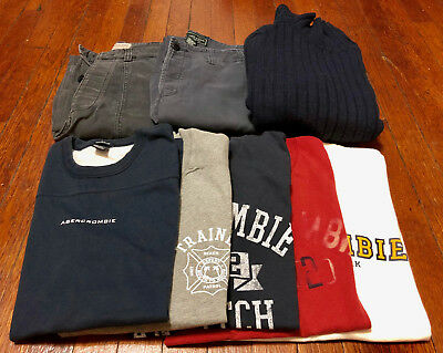 Abercrombie & Fitch Lot! A collection of 8 items! Tshirts, Pants and more!