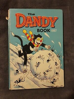 Collectable Vintage Dandy Book 1967 Comic Annual Fair Condition