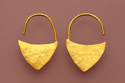 24 Carat (24K) PURE Solid Gold Earrings,
