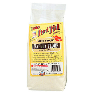 Bob's Red Mill Barley Flour, 20 oz (Pack of 4)