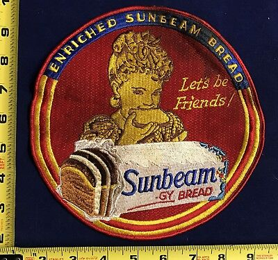 Large Sunbeam Bread Large Jacket Patch