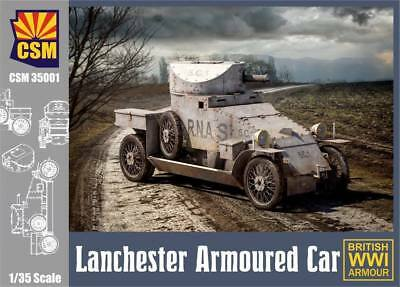 Lanchester Armoured Car plastic kit - Copper State Models #35001 1/35