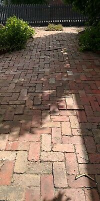 Recycled bricks 75c per brick / pavers / feature wall / landscaping / A grade