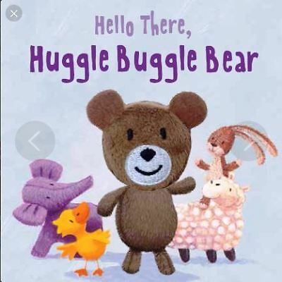 Hello There, Huggle Buggle Bear Finger Puppet Book