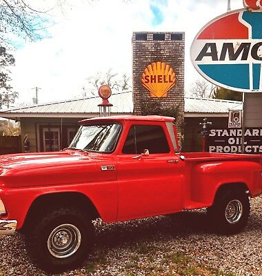 1965 Chevrolet C-10  1965 CEVROLET C10 SHORT BED STEP SIDE 4X4 ON LATE MODEL 85 FRAME! GREAT TRUCK