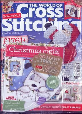 World of Cross Stitching Magazine December 2017 (NEW)