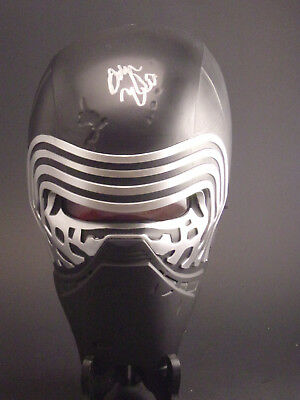 Star Wars Adam Driver autographed Kylo Ren Wall Light/ Mask COA