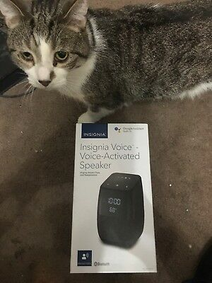 insignia voice activated bluetooth speaker