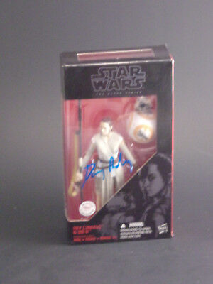 Star Wars Daisy Ridley autographed The Black Series Rey Action Figure COA