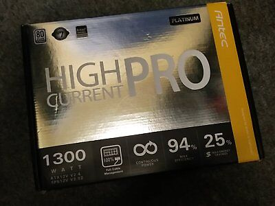 Antec 1300W HCP Platinum PSU *Bitcoin Mining* - MUST be Sold, Grab A Bargain