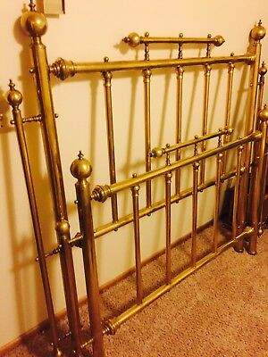 Antique brass bed frame Full Size Victorian Style