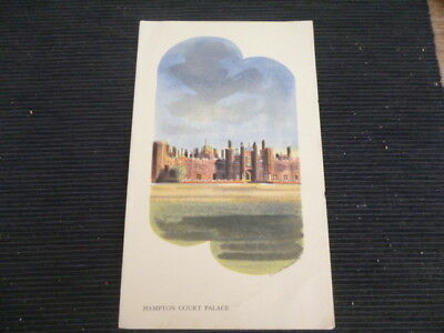 maritime  memorabilia 1938 S.S. Orion tourist Menu Hampton Court Palace