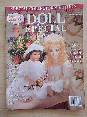 ADB&C~Doll & Bear Patterns~Doll Special~French Costume~Lace Cape~Wally~Smocking
