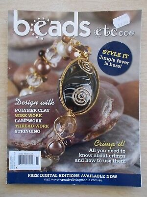 Beads etc #19~Wire~Metal Clay~Polymer~Lampwork~Stringing~Threadwork~Crimps