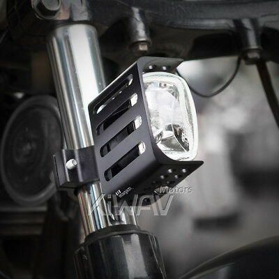 """Magazi 3"""" square fog lamp metal mounting halogen H3 12V 55W for Buell x 1"""