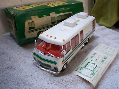 Vintage 1980 Hess Training Van In Orig Box With Battery Card Beauty Very Rare