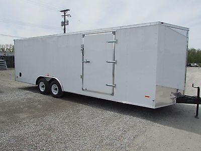 Rc 24' Enclosed Carhauler Trailer *big Winter Sale Going On Now @ Dr Trailer