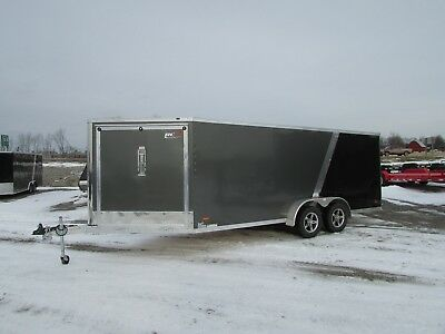 7X23 Rc Enclosed Snowmobile Trailer *fully Finished* Big Winter Sale@dr Trailer