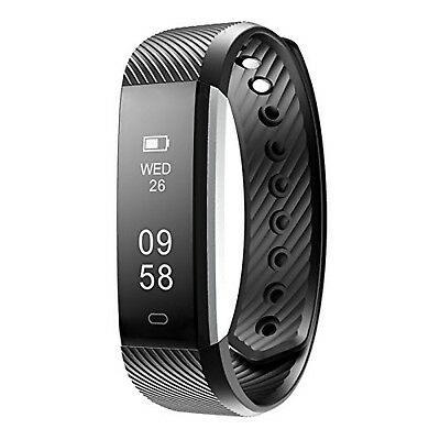 Fitness Trackers, FitX Water resistant Activity Tracker with Pedometer and Sl...