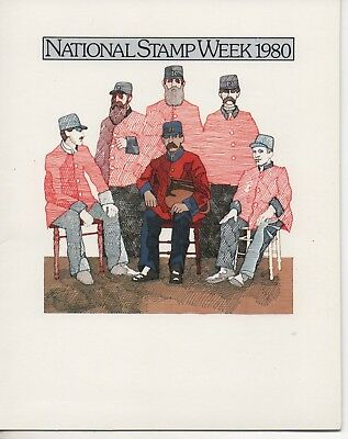 Au - 1980 - National Stamp Week Booklet - With Mini Sheet
