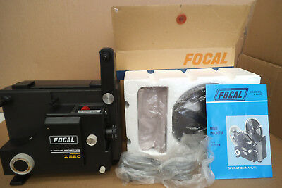New Focal 8Mm Movie Projector In Box Never Used
